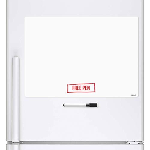 röße, Magnetische, klebrige Erinnerungsbrett, Kühlschrankbrett, Zinn Whiteboard, Küchenplaner ()