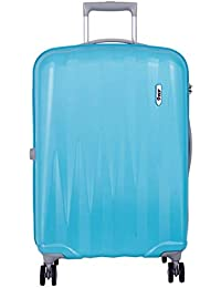 VIP Zapper Polycarbonate 360 Degree Turquoise Trolley Bag