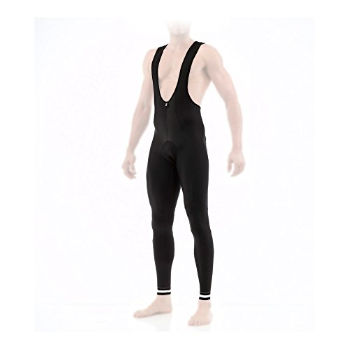 Santini Radhose Herren SP 1180 GIT EGO Winter Bib-Tights Men (Größe: L) (Radhose Santini)