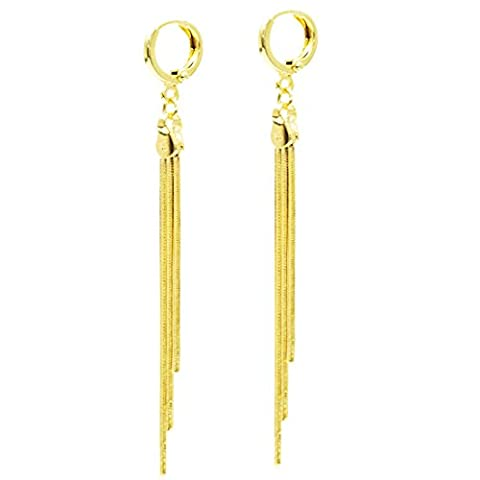 Juvel-Jewelry 14k Gold plating Classic Noble Earrings Drop And Dangle For Girls