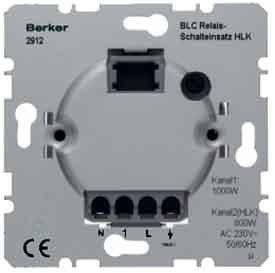 Berker BLC Relais-Schalteinsatz 2912 HAUSELEKTRONIK Elektronischer Schalter 4011334242215 (Hlk-kanal)