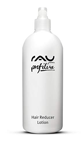 Nachwachsen Lotion (RAU Hair Reducer Lotion Profiline 500 ml - Enthaarungscreme mit Aloe Vera und Urea Verzögert das Nachwachsen Unerwünschter Körperhaare)