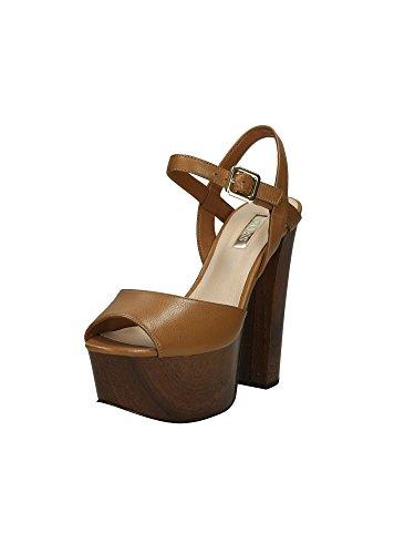 Guess FLDE21LEA03 Sandalo Donna Light Brown