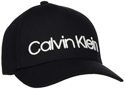 Calvin Klein Damen Logo Embroidery Baseball Cap, Schwarz (Black Bds), One Size (Herstellergröße:OS)