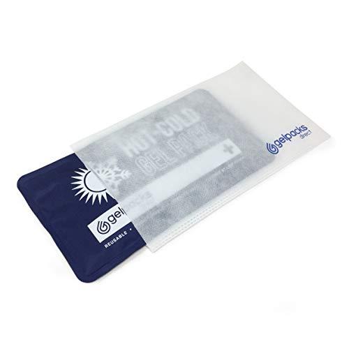GelpacksDirect Paquete de gel de lujo con manga