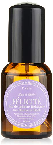 Elixirs & Co Eau d'Elixir Félicité Eau de toilette Relaxante aux Fleurs de Bach 30 ml
