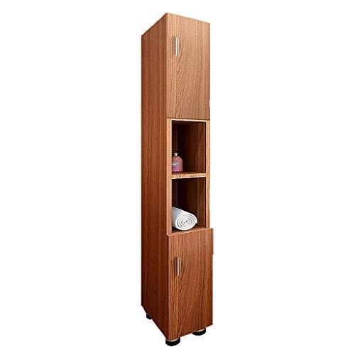 Bad Lagerung Wohnzimmer Eckschrank Schlafzimmer Seitenschrank Boden Schränke Medizinschrank (Color : Brown, Size : 120 * 30 * 25cm) Brown Böden