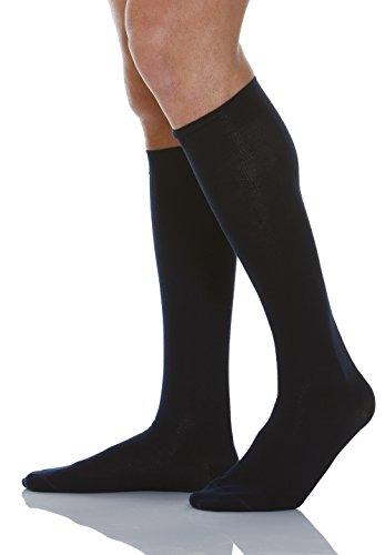 relaxsan-920-azul-tg4-calcetines-hasta-la-rodilla-de-algodon-unisex-contenitivo-con-compresion-gradu