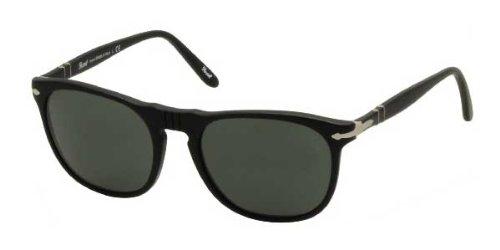 Persol Für Mann 2994 Matte Black / Grey / Green Kunststoffgestell Sonnenbrillen, 52mm