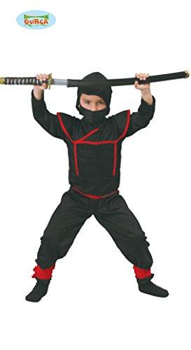 Kostüm von ninja (4-6 Jahre (Kostüme Samurai Kind)