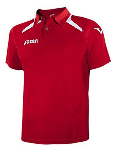 Joma Champion Ii Polo Uomo, Rosso/Bianco, L