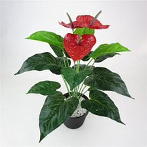 Nuovo stile 6 Artificial Plant Falso Pot Foto Wedding Booth simulazione Leave Piccolo Erba Bonsai Casa Garden Party regalo dell'oro Decor