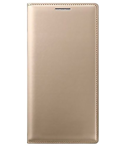 Kolorfame Flip Cover for Gionee M5 Lite-Gold