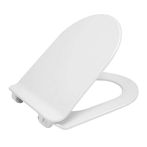 NEG Ersatz-Toilettendeckel (SlimLine) für Hänge-WC Uno11/Uno11RL (Duroplast) mit SoftClose und Quick-Release-Funktion