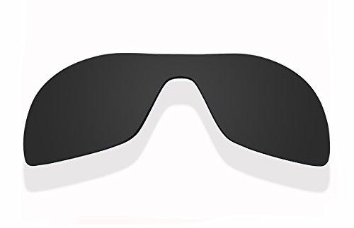 Sunnyblue2 Schwarz polarisierte Ersatz Gläser für Oakley Antix Sonnenbrille