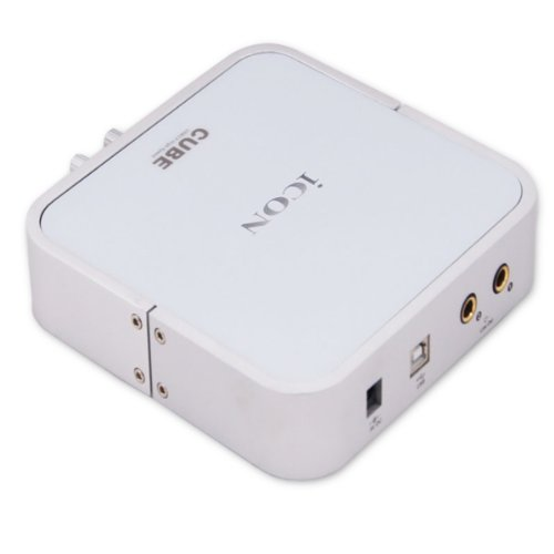 iCON Cube USB 2.0 Audio-Interface (24bit, 96/192KHz, 2-In/2-Out)
