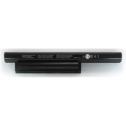 Batería compatible 6celdas para portátil SONY VAIO PCG-71211M 10.8V 11.1V 4.4Ah