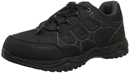 Richter Kinderschuhe Future 1, Unisex-Kinder Laufschuhe, Schwarz (Black/Steel 9902), 36 EU (3.5 UK)