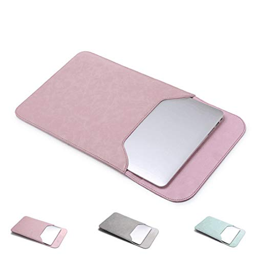 KERVINFENDRIYUN YY4 Laptop-Hülle Tasche für Macbook Air 11.6-15.4 Zoll mit kleinem Fall Campatible Macbook Ladegerät (Color : Rose powder, Size : Pro 15.4 inch) Pro 15.4