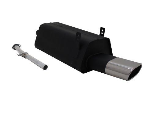 NOVUS Sportauspuff TÜV - Frei / Auspuff / Endschalldämpfer Stahl mit ABE A2202E0