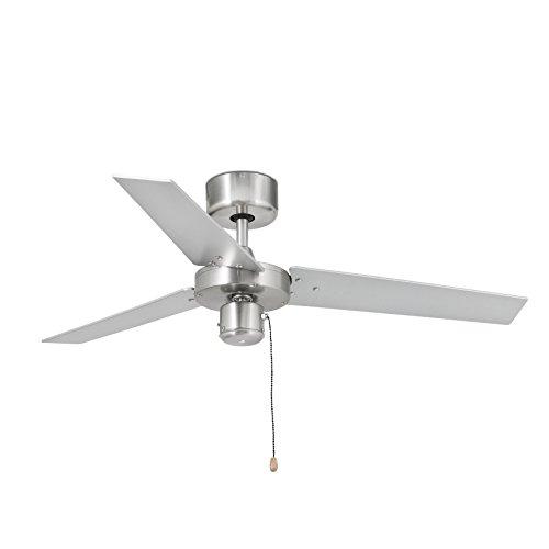 Faro 33611 - FACTORY Ventilatore da soffitto alluminio spazzolato