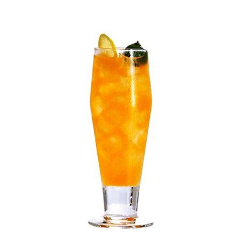 Black Temptation Elegante Goblet Party Gläser Heavy Base Saft Gläser Trinken Wein Cups, A 37