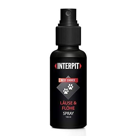 Interpit LÄUSE & FLÖHE Spray, Hochwirksam & gut duftendes Naturprodukt für Haustiere – Milben + Flohmittel für Katze & Hund | 100ml