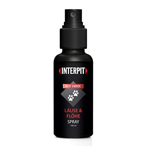 Interpit LÄUSE & FLÖHE Spray | HOCHWIRKSAM | gut duftend | Naturprodukt für Haustiere | Flohmittel | Katze & Hund | Flöhe | Milben | 100 ML