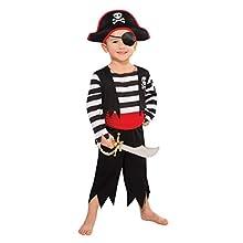 Amscan Children Rascal Deckhand Pirate Costume (4-6 Years)