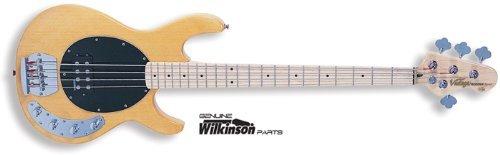 Vintage Naturale Attivo Bass Guitar