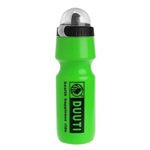 Grüne Krug (Lergo 750 ml Lebensmittelqualität Tragbarer Sport Fahrradkessel Wasserflasche Shaker Cup Krug, grün)