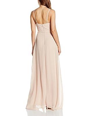 Lipsy Women's Halter Sheer Dress