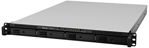 Synology  RS815+ 8TB (4 x 2TB WD RED) 4 Bay NAS-Rack-Einheit | 5051868124037