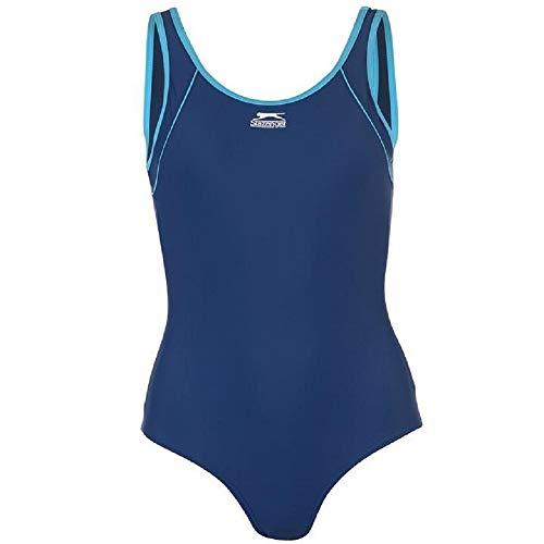Slazenger Damen Badeanzug, figurbetont  44 marineblau