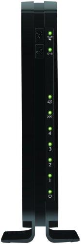 Netgear DGN1000 N150 Wireless ADSL2 + 4-Port Modem Router (Black)