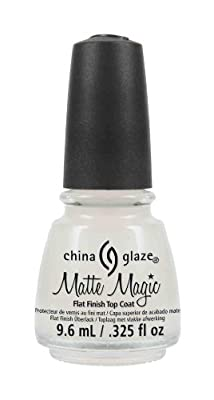 China Glaze Matte Magic Top Coat 9.6ml