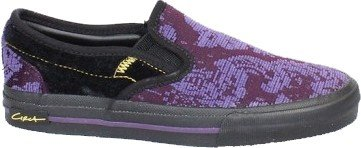 Circa Skate Shoes SELWSLIP Kids Black / Purple / Renaissance, shoe size:36.5
