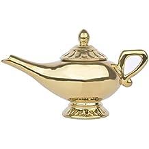 Ideal casa Tetera de la Lámpara de Aladdín Original de Disney y Pintada a Mano,