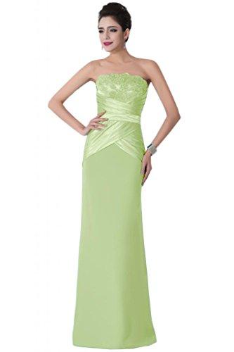 Sunvary classica elasticizzata, colonna senza Wedding Guest vestiti Pageant vestiti Sage