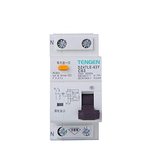 OIASD Interruptor de Aire Interruptor de protección contra Fugas 1P + N...