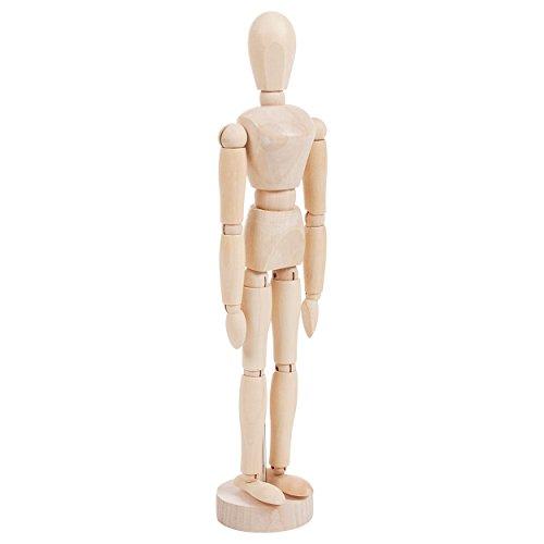 Modellpuppe weiblich inkl. Stativ 30 cm, Anatomie Modell, Anatomische Lehrmittel