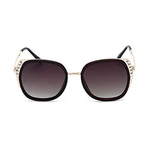 Yiph-Sunglass Sonnenbrillen Mode Sonnenbrille 5 Farben Frauen Cat Eye Sommer Männer Polarisierte Sport Sonnenbrille Outdoor Driving Reise Goggles (Farbe : Braun, Größe : Free) (Oakley-goggles Großer)