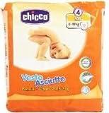 IRPot - 6 PACCHI PANNOLINI CHICCO VESTE ASCIUTTO TAGLIA 4 114 PZ. 8-18 KG