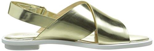 Calvin Klein Tonya, Sandales Femme Beige (Lgd/Metallic Box)