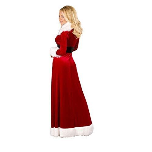 Sexy Erwachsene Weihnachtskostüm Für - Yunfeng weihnachtsmann kostüm Damen Weihnachtskostüm Kostüm Sexy Robe Spiel Bühnenperformance Kostüm Erwachsene Weihnachtsfeier Cosplay Kostüm