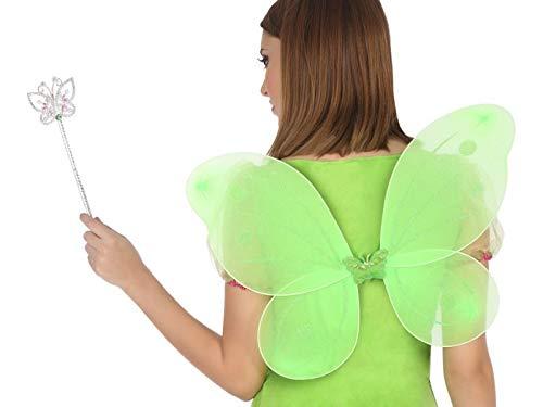 Glockenblume Kostüm - ATOSA 39618 Kostüm Zubehör Unisex- Erwachsene