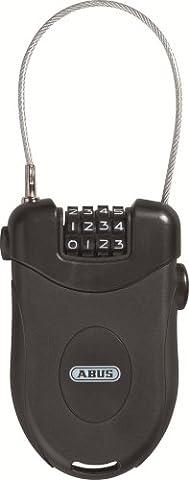 Abus Roll-Back Cable Lock Combiflex 202/90 90 cm 52920-7 Black