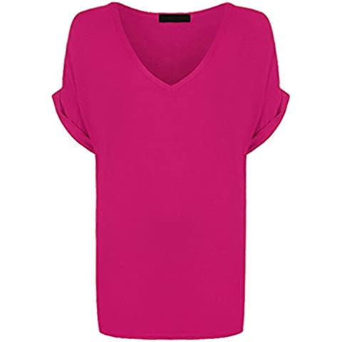 Hina Fashion - Camiseta - para mujer