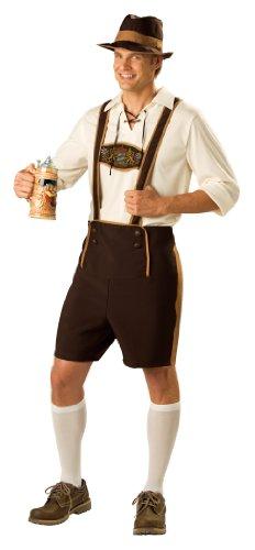 In Character Kost-me 181389 Bayerischen Guy Kost-m - Braun - (Kostüm Guy Bayerische)