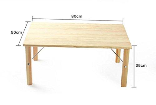 Endtische Kleiner Couchtisch Faltender Massivholzbett Computertisch Klapptisch Lässige Tisch Fauler Massivholz Computer Schreibtisch